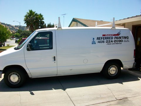 Referred Painting Van